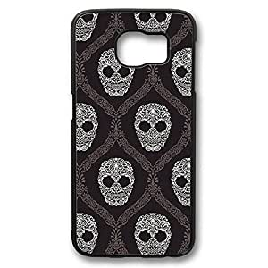 iCustomonline Skull Back Cover Hard Case for Samsung Galaxy S6