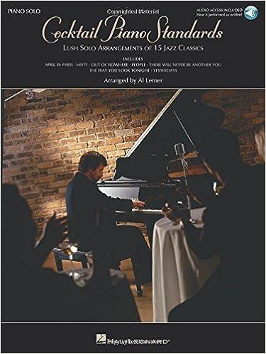 Cocktail Piano Standards: Al Lerner: 0073999605099: Amazon