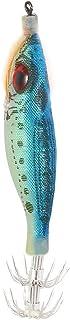 Como bleu scintillant de lumière verte Bait Lure multi Crochets Pêche