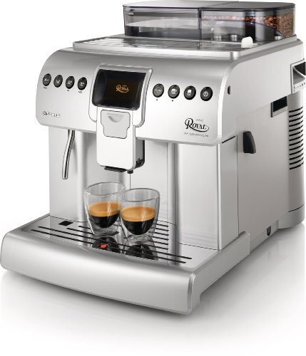 Saeco Royal HD8930/47 Independiente Totalmente automática Espresso machine 2.2L Plata - Cafetera (Independiente, Máquina espresso, 2.2 L, Molinillo integrado, 1400 W, Plata)