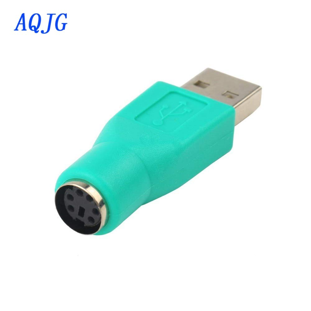 Hot PS2 Female to USB Male Port Mouse Adapter Converter Connector For Keyboard
