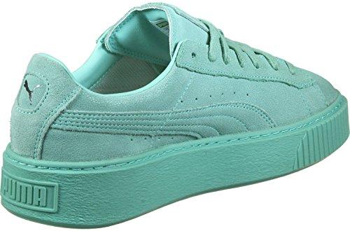 Puma Basket Platform Reset Wns 36331304, Sneakers Aruba Aruba Blue-blue