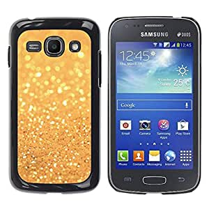 Paccase / SLIM PC / Aliminium Casa Carcasa Funda Case Cover para - Glitter Golden Shining Bright Bling - Samsung Galaxy Ace 3 GT-S7270 GT-S7275 GT-S7272