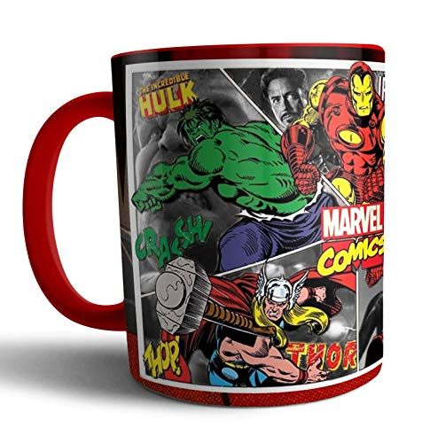 Caneca de porcelana Vingadores Avengers