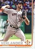 2019 Topps Baseball #57 Justin Verlander Houston Astros