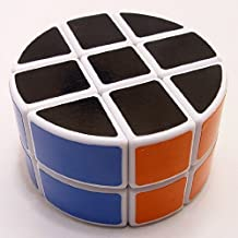 Qiyun White 2x3x3 Puzzle Pie-shape Round Column Speed Cube