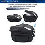 Motorcycle Seat Tail Bag Backpack Dual Use