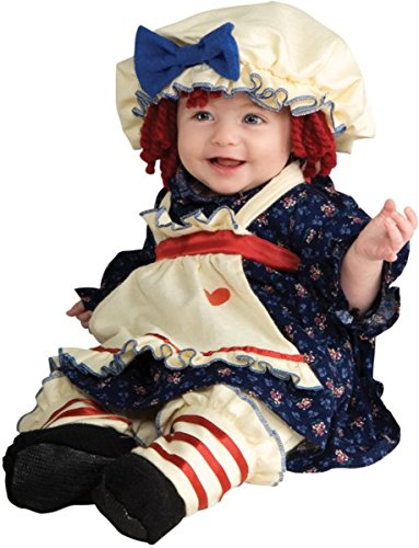 Girl's Costume: Ragamuffin Dolly- Small