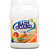 Rainguard 1 Gal Homeowner Wet Look High Gloss Masonry & Wood Acrylic Sealer Protects Decks, Porches, Patios, Walkways, Pavers. For use on all all types of Concrete, Brick, Masonry, Wood and Stone S