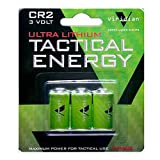 #3: Viridian CR2 3v Lithium Battery (3-pack)