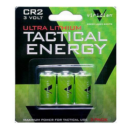 Viridian CR2 3v Lithium Battery (3-pack) (Halo 4 Best Weapon)