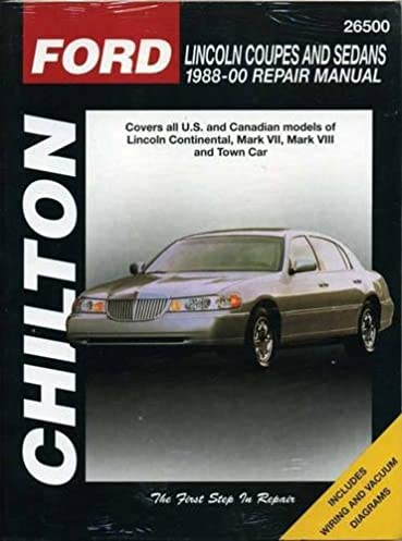 lincoln coupes and sedans 1988 00 haynes repair manuals chilton rh amazon com 1976 Lincoln Continental 1995 Lincoln Continental