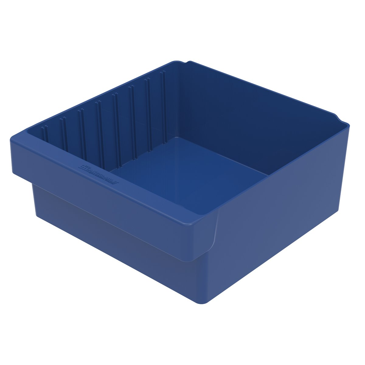 Akro-Mils 31112 11-5/8-Inch L by 11-1/8-Inch W by 4-5/8-Inch H AkroDrawer Plastic Storage Drawer, Blue, Case of 4