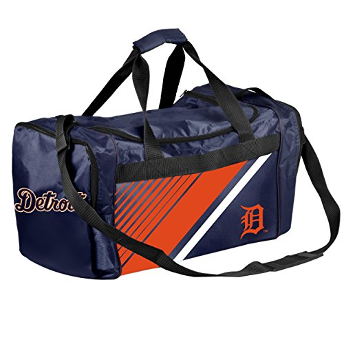 - Detroit Tigers Border Stripe Duffle Bag