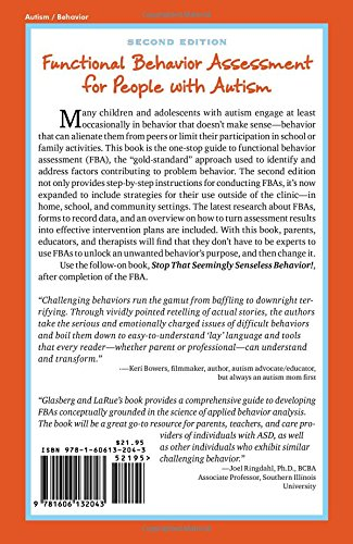 Functional Behavior Assessment For People With Autism Making Sense