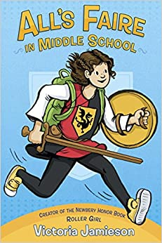 Image result for all's faire in middle school cover