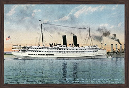 san-diego-california-view-of-the-pacific-naval-companys-steamer-the-ss-yale-36x22-3-8-giclee-art-pri