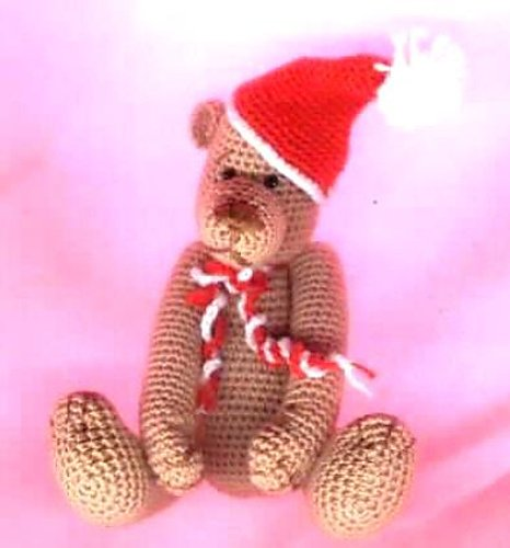 MILO. Christmas Crochet Teddy Bear Pattern