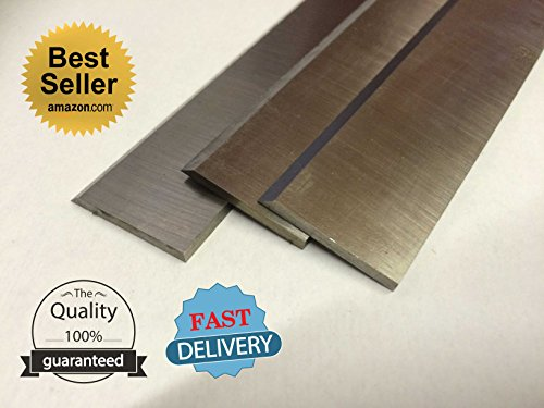 15 x 1 x 1/8 Planer Knives for Delta DC-380, Grizzly G0815,