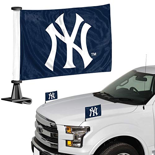 - ProMark MLB New York Yankees Flag Set 2Piece Ambassador Stylenew York Yankees Flag Set 2Piece Ambassador Style, Team Color, One Size