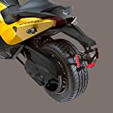 Can Am Spyder RS, ST 2014 and prior Sport Rear Fender Black #219400400 by Can-Am