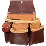 Occidental Leather 5017DBLH 3 Pouch Pro Tool Bag, Left Handed