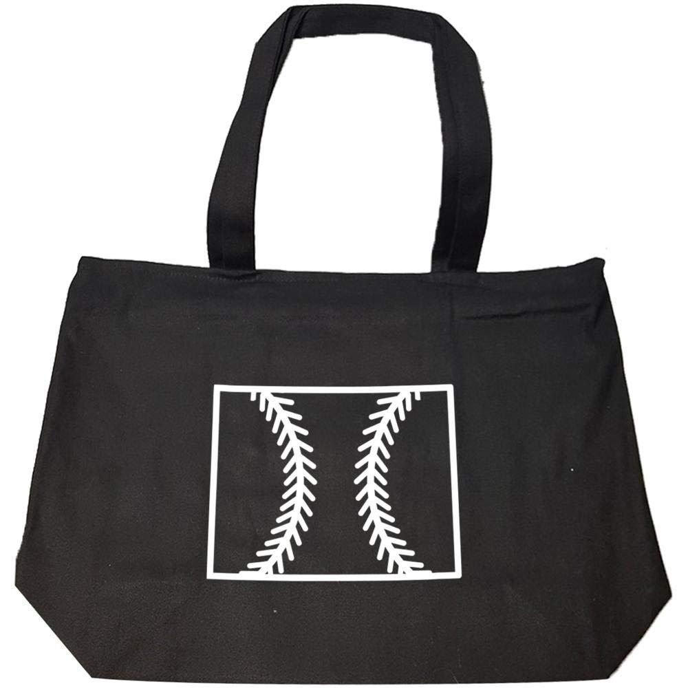 Wyoming Baseball USA State Pride - Fashion Zip Tote Bag
