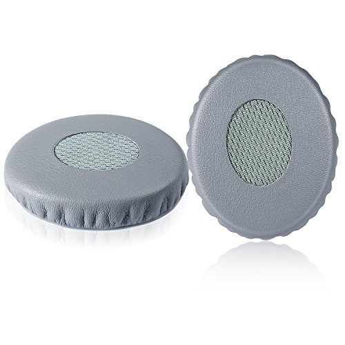 JARMOR Replacement Cushion Earpads Kit for Bose On Ear OE2, OE2i & SoundTrue Headphones (Grey)