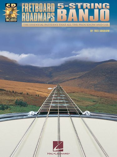 Fretboard Roadmaps: 5-String Banjo - First Lessons Folk Guitar
