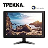 TPEKKA 10.1'' Inch IPS Monitor Display Portable LCD CCTV 1280X800 Multimedia Audio Video Monitor with USB HDMI BNC VGA AV Input Dual Speaker Earphone Out Remote for Raspberry Pi DVR PC Security Screen