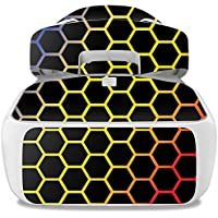 Skin For DJI Goggles – Primary Honeycomb | MightySkins Protective, Durable, and Unique Vinyl Decal wrap cover | Easy To Apply, Remove, and Change Styles | Made in the USA