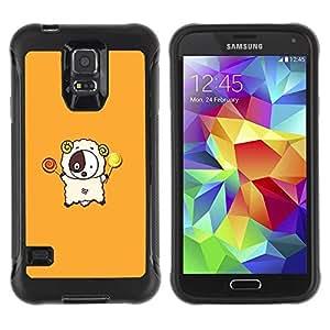 Suave TPU GEL Carcasa Funda Silicona Blando Estuche Caso de protección (para) Samsung Galaxy S5 V / CECELL Phone case / / Cute Lamb /