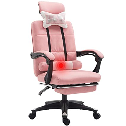 Amazon.com: Home Office Chair Study Computer Chair Student Chair Conference Chair Rotating Lift Gaming Chair Pink Chair Chair for Girls: Kitchen & Dining