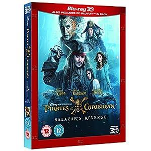 Pirates of the Caribbean: Salazar's Revenge (3D + 2D) [Blu-ray] [2017] [Region Free]