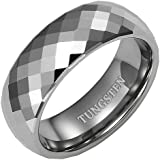 Brand New Mens Band Ring crafted in Pure Tungsten pack in a Free Gift Box.