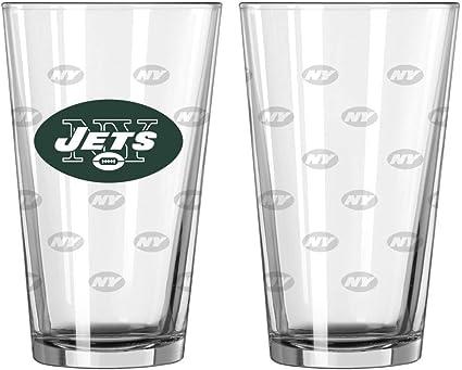 NFL New York Jets Color Freezer Pilsner Bierglas