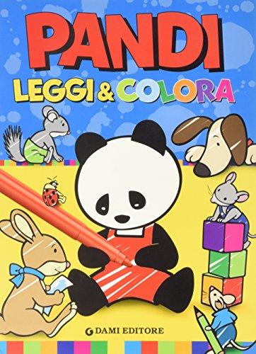Pandi. Leggi & colora