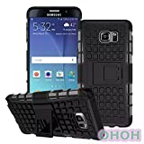 Note 5 Case,OHOH Samsung Galaxy Note 5 case,Drop Resistant Shockproof Scratch resistant 3 in 1 Hard Plastic Rugged Protective Cae Cover with Kickstand for Samsung Galaxy Note 5 (Hot Black) (Office Product)
