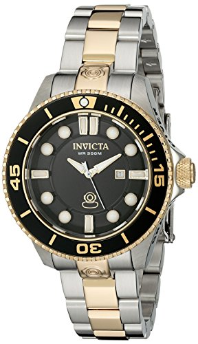 Invicta Women's 19815 Pro Diver Analog Display Swiss Quartz Two Tone Watch