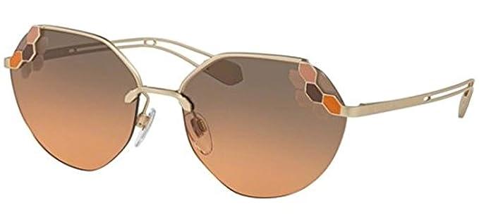 Bulgari 0Bv6099 20144Z 57 Gafas de Sol, Dorado (Pink/Grey ...