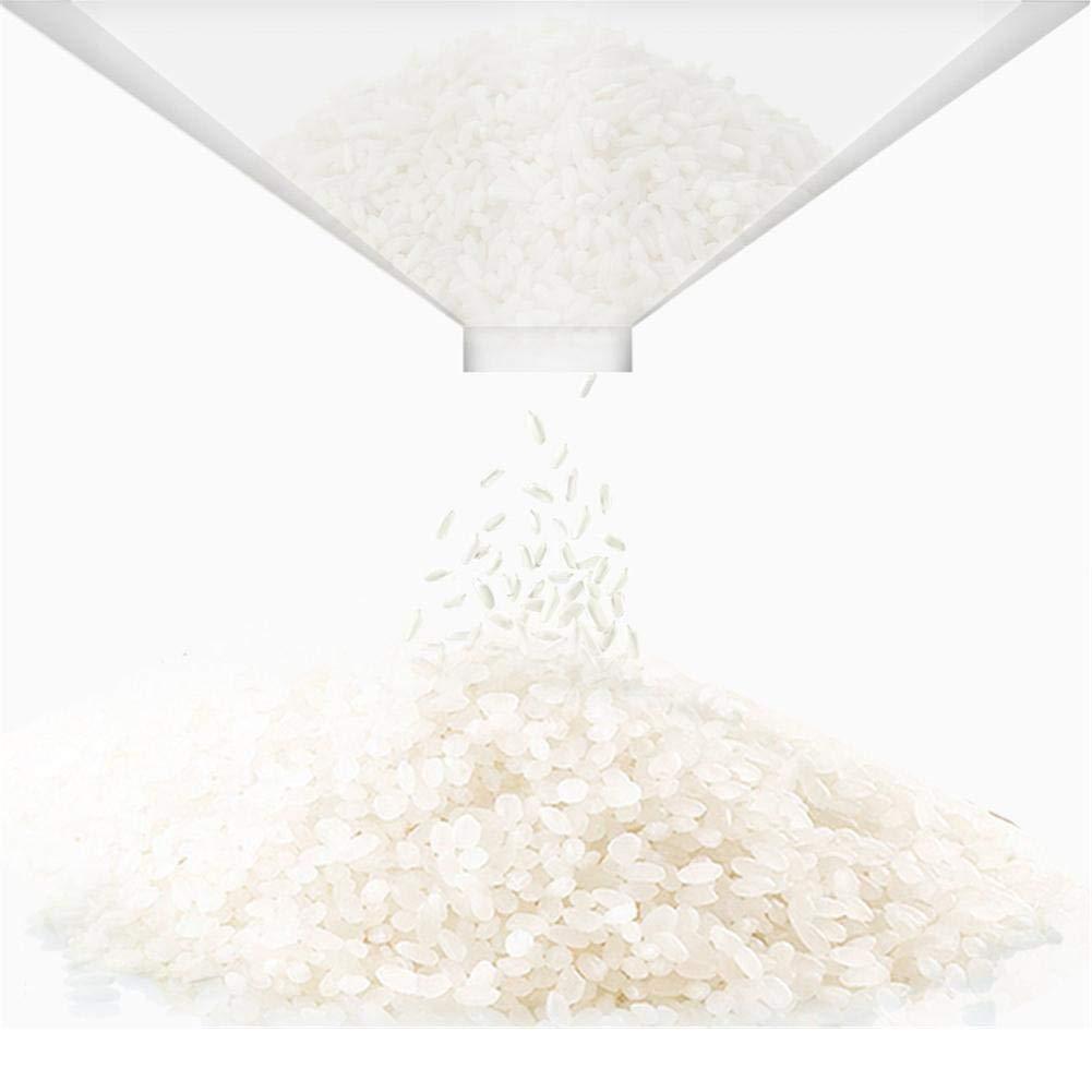 Petit Blanc Falliback Bo/îte De Stockage Riz Multifonction Dosage Cylindre M/ètre Baril /Étanche /À Lhumidit/é Anti-Insectes Scell/é Bo/îte De Riz-34 15 35CM