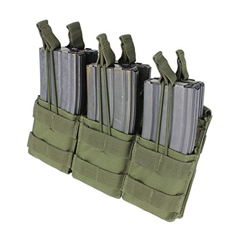 Condor Triple Stacker Mag Pouch Olive Drab by Condor Outdoor
