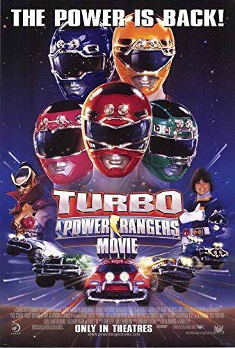 Turbo: A Power Rangers Movie POSTER Movie (27 x 40 Inches - 69cm x
