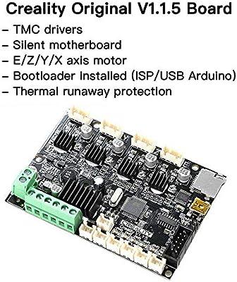Ender 3 5 Pro 1.1.5 TMC2208 Impresora 3D de placa base silenciosa ...