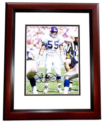 Jack Del Rio Signed - Jack Del Rio Signed - Autographed Minnesota Vikings 8x10 inch Photo MAHOGANY CUSTOM FRAME - Guaranteed to pass PSA or JSA - Oakland Raiders Coach