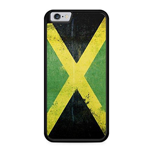 Jamaika Grunge - SILIKON Hülle für iPhone 6 & 6s - TPU Cover Case Schutz Schale Flagge Flag Jamaica