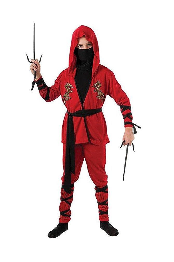 Amazon.com: Rubies Ninja Lord Costume and Ninja Sai Weapon ...