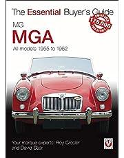 MG MGA: All models 1955 to 1962