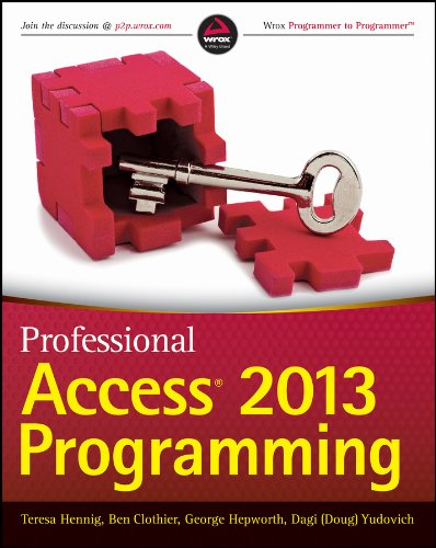 Professional Access 2013 Programming Pdf