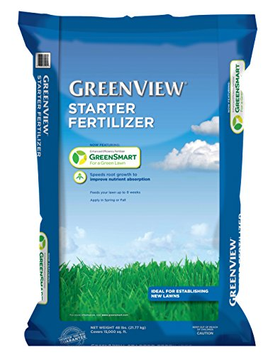 GreenView 2129800 Starter Fertilizer 48 lb, Covers 15,000 sq. ft.